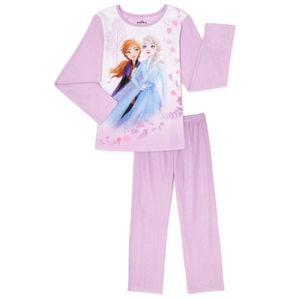 Disney Frozen Anna and Elsa pajama set
